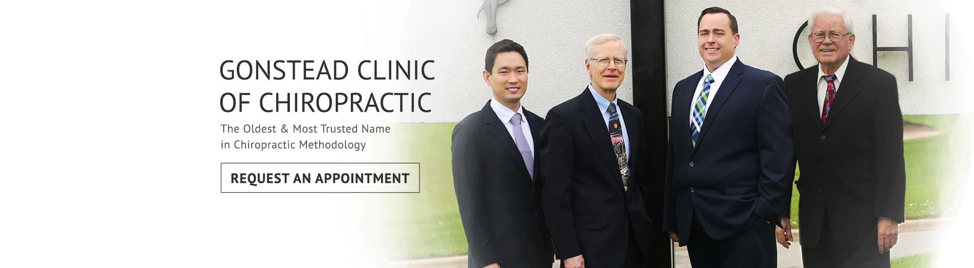 Team at Gonstead Clinic of Chiropractic